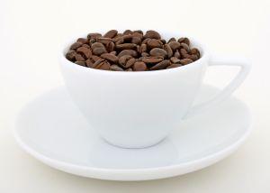 стакан вкусного кофе