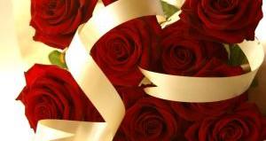 Подарок в виде роз