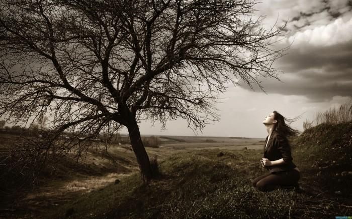 жизнь одинокой женщины