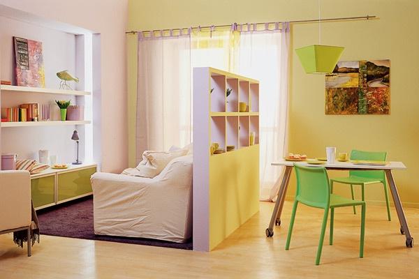 Как разделить комнату на две зоны своими руками фото