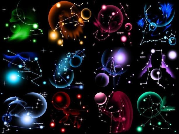 разных знаков зодиака