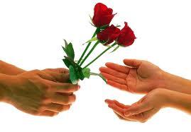 мужчина не дарит цветы
